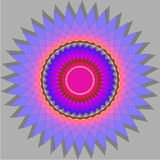 Vector element of the decorative elements of the sun, colorful ornament element Stock Image