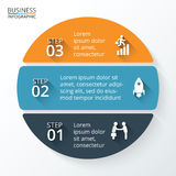 Vector element for infographic. Royalty Free Stock Photography