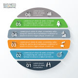 Vector element for infographic. Royalty Free Stock Photo