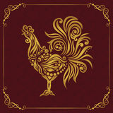 Vector element for New Year. Royalty Free Stock Photos