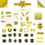 Vector element set Royalty Free Stock Image