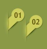 Vector elementen voor Webontwerp Stock Foto's