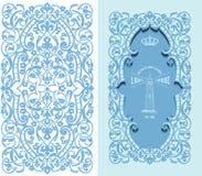 Vector Elemento retro del marco y del diseño Foto de archivo libre de regalías