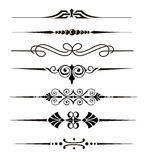 Vector elements. Vector divider ornaments and graphical elements