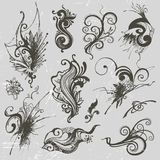 Vector elements. Set of hand-draw vector elements Royalty Free Stock Photography
