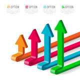 Vector elements for infographic. Stock Photos
