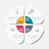 Vector elements for infographic. Vector abstract 3D digital illustration infographic and marketing icons can be used for work flow layout, diagram, annual Stock Photography