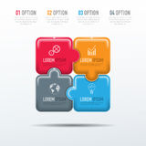 Vector elements for infographic. Vector abstract 3D digital illustration infographic and marketing icons can be used for work flow layout, diagram, annual Stock Photo