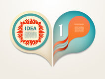Vector elements for infographic. Stock Photography
