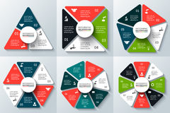 Vector elements for infographic. Stock Images