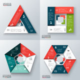 Vector elements for infographic. Stock Image