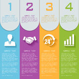 Vector elements for infographics. Royalty Free Stock Images