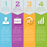 Vector elements for infographics. Royalty Free Stock Photography