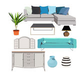 Vector elements for interior design Royalty Free Stock Photography