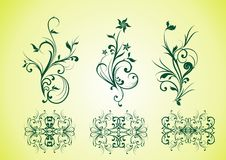 Vector elements of the pattern Stock Photos