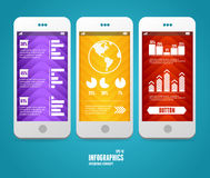 Vector elements of UI. User interface Stock Image