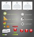 Vector elements web design Stock Image