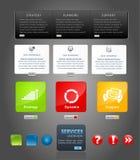 Vector elements web design Stock Photography