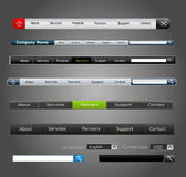 Vector elements web design Royalty Free Stock Image