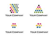 Vector embleem en ontwerpelementen Royalty-vrije Stock Afbeelding