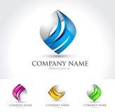 Vector embleem voor zaken Stock Foto's