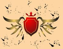 Vector emblem royalty free stock photos