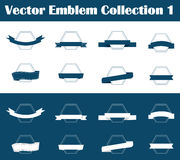 Vector Emblem Collection 1 Stock Image