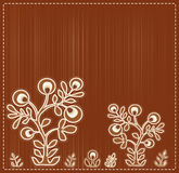 Vector embroidered ethnic Royalty Free Stock Photography
