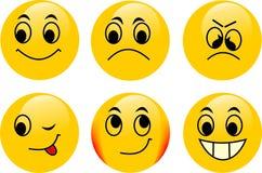 Vector emoticons Royalty Free Stock Photos