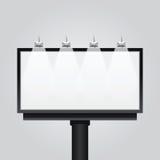 Vector empty billboard sign,signboard, modern banner, . vector illustration