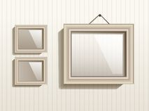Vector Empty Frame On The Wall. This is file of EPS10 format royalty free illustration