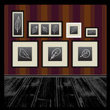 Vector empty frames Royalty Free Stock Photos