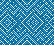 Vector endless geometric pattern composed with squares and lines Stock Images