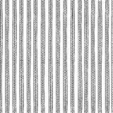 Vector endless seamless pattern with repeating sty Royalty Free Stock Photos