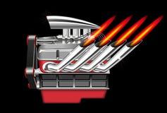 Vector Engine Stock Image