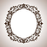 Vector engraving frame in antique style Royalty Free Stock Image