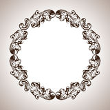 Vector engraving frame in antique style Royalty Free Stock Photography