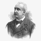 Vector engraving portrait of Felix Faure, a former president of vector illustration