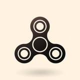 Vector Enig Pictogram - Plaything-Spinner vector illustratie