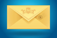 Vector envelop icon Stock Photo