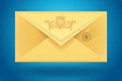Vector envelop icon stock illustration