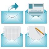Vector  envelope on white background. Stock Photos