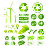 Vector environmental collection Stock Photo
