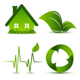 Vector environmental elements Stock Photos