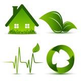 Vector environmental elements Stock Photos
