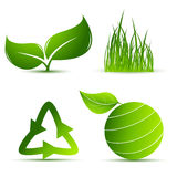 Vector environmental elements Stock Photography