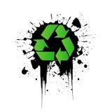 Vector environmental recycling icon Stock Image