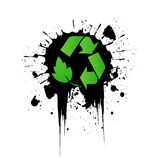 Vector environmental recycling icon Stock Photo