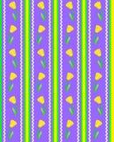Vector Eps 8 het Gestreepte Purpere Patroon van het Behang met Stock Foto's