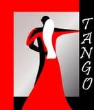 Vector EPS 8 del tango Fotos de archivo libres de regalías